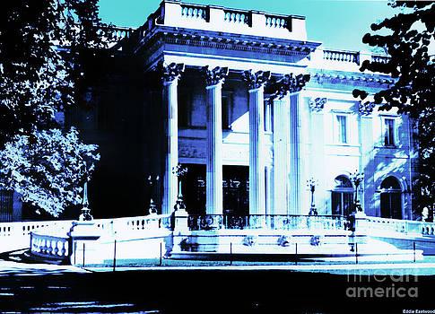 Marble House Mansion Newport Rhode Island by Eddie Eastwood