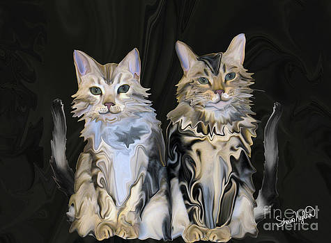 Marble Meows by Sherin  Hylan