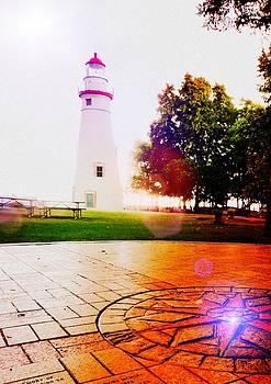Marblehead Lighthouse by Kenneth Krolikowski