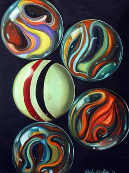 Leah Saulnier The Painting Maniac - Marbles Edit 4