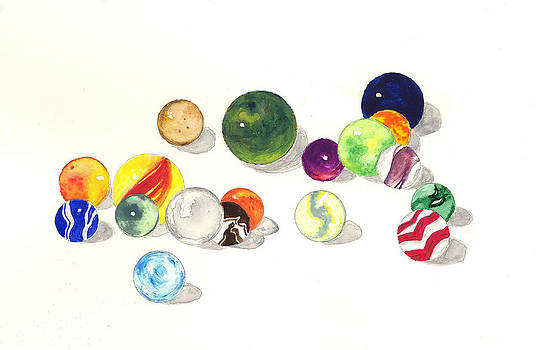 Marbles by Michael Vigliotti