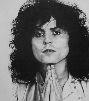 Marc Bolan by Mike OConnell