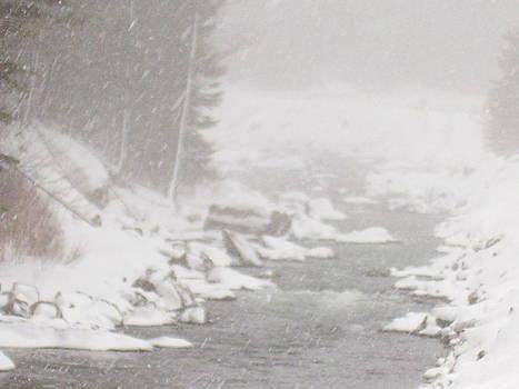 March Snow by Yvette Pichette