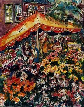 Marche des Fleurs by Elaine Elliott