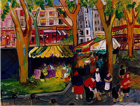 Marche des Paris by Elaine Elliott