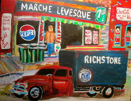 Marche Levesque by Michael Litvack