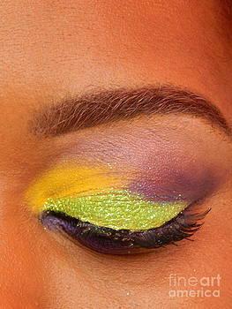 Mardi Gras 2014 Eye See Colors Of Mardi Gras by Michael Hoard