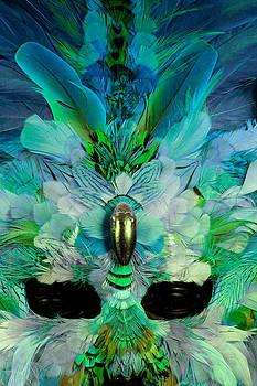 Jo Ann Snover - Mardi Gras mask