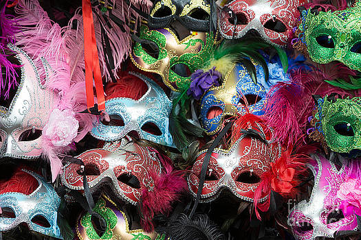 Mardi Gras Masks by Jerry Fornarotto