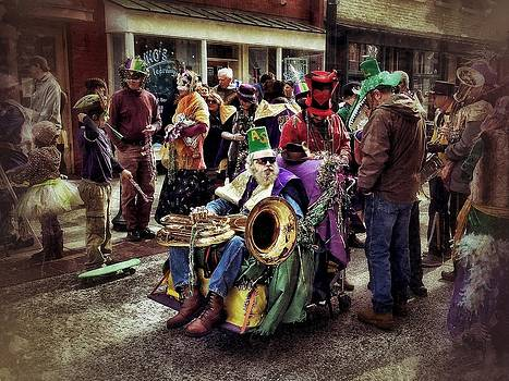 Mardi Gras Parade by Mark Block