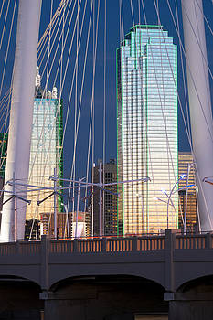 Margaret Hunt Hill Bridge 022115 by Rospotte Photography