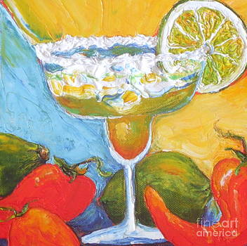 Margarita and Chile Peppers by Paris Wyatt Llanso