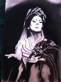 Maria Callas by Alessandro Cedroni