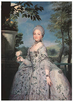 Anton Raffael Mengs - Maria Luisa of Parma