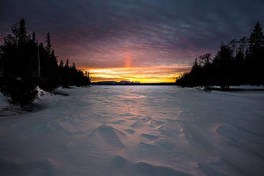 Marie Louise Lake Sunset by Jakub Sisak