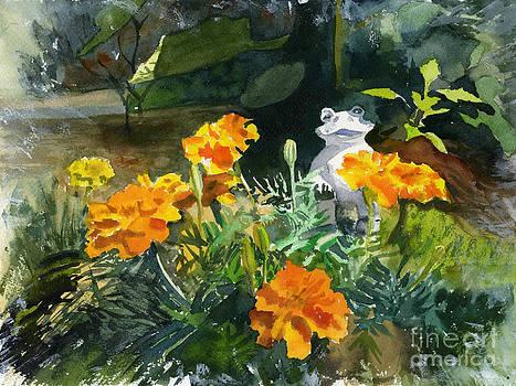 Marigold Garden by Hollis Machala
