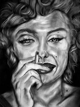Marilyn  Got A Light by Herbert Renard