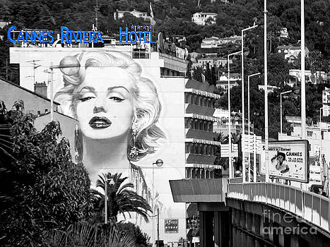 Marilyn in Cannes by Jennie Breeze