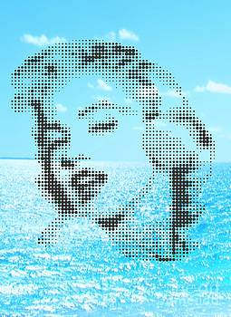 Marilyn  In Horizon See by Rodolfo Vicente