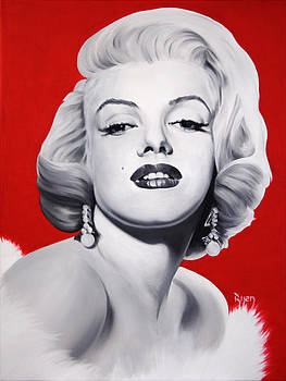 Marilyn Monroe by Bijan Masoumpanah