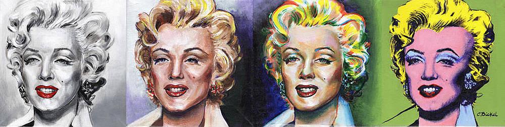 Marilyn Monroe by Charles  Bickel