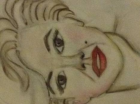 Marilyn Monroe by Corinne Mcdonald