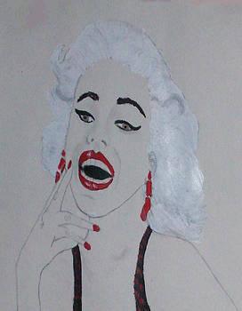 Marilyn Monroe by De Beall