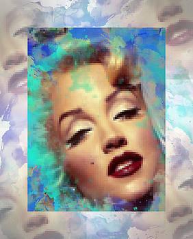 Marilyn Monroe digital painting by Costinel Floricel