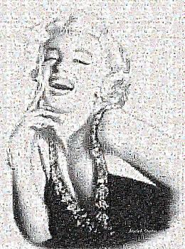 Angela A Stanton - Marilyn Monroe in Mosaic