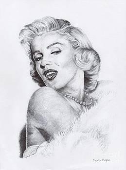 Marilyn Monroe by Natalia Chaplin