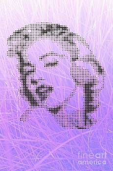 Marilyn Monroe On Velvet Grass by Rodolfo Vicente