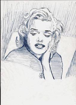 Marilyn Monroe by Rodger Larson