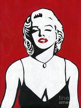 Marilyn Monroe by Roz Abellera Art