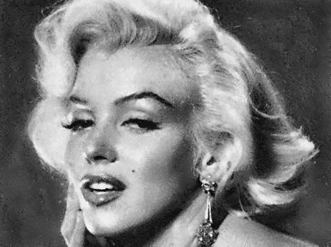 Beautiful Marilyn Monroe Unique actress by Georgi Dimitrov