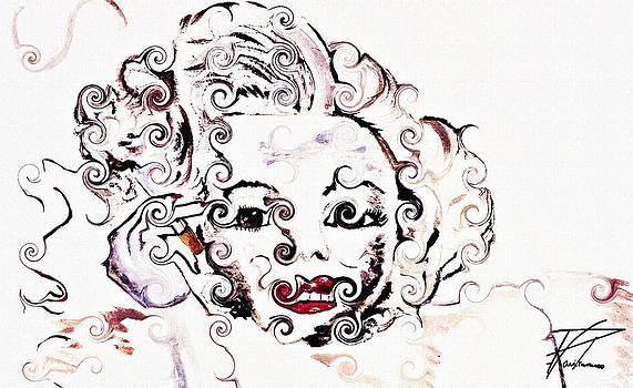 Ayasha Loya - Marilyn Monroe with Diamonds Are a Girls Best Friend 2