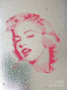 Marilyn On Wet Mirror by Rodolfo Vicente