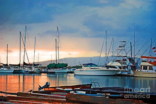 Marina at Sand Island by Lisa Cortez