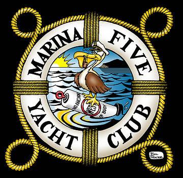 Marina Five Yacht Club by Bill Proctor