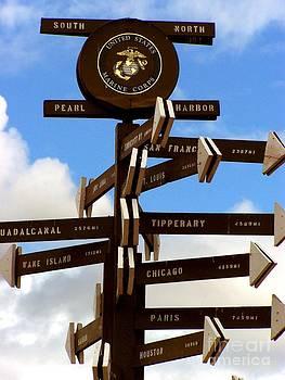 Christine Stack - Marine Corps Signpost