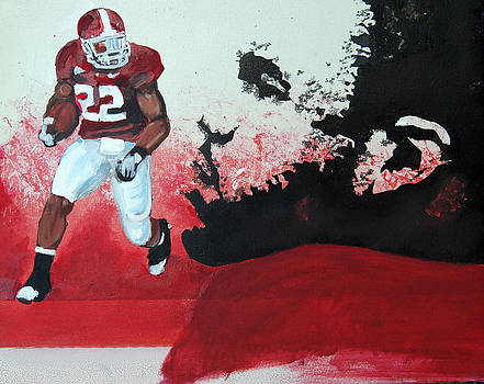 Mark Ingram Roll Tide by Ottoniel Lima
