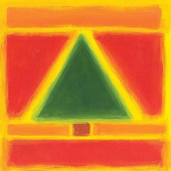 E Gibbons - Mark Rothko Style Christmas Tree