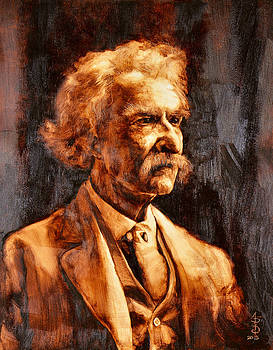Mark Twain by Anthony Sell
