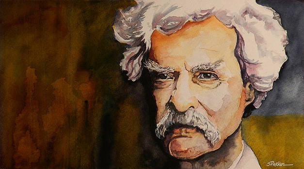 Mark Twain by Scott  Parker