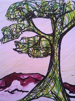 Marker as a Tree by Laura Walker