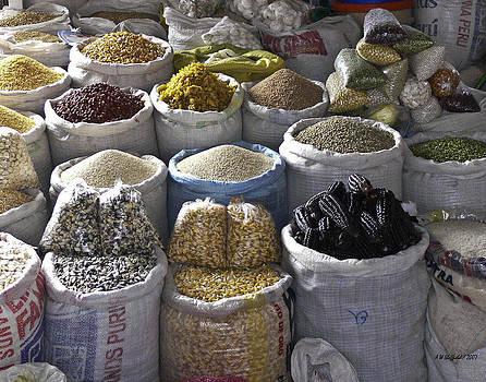 Allen Sheffield - Market - Cusco Peru