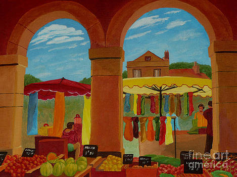 Market Day by Anthony Dunphy