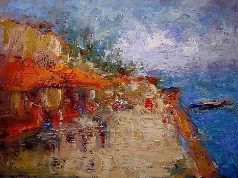 Market in Nafplion Greece by R W Goetting