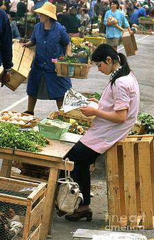Market in Nice by Erik Falkensteen