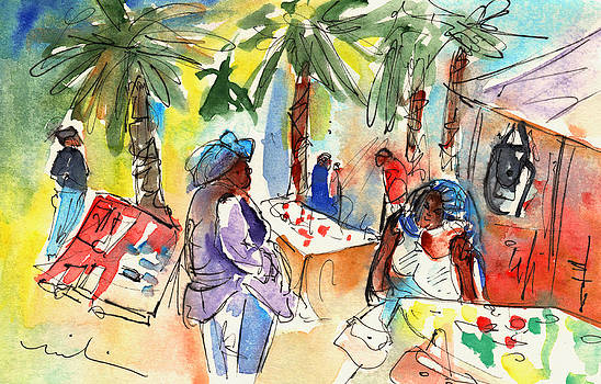 Miki De Goodaboom - Market in Teguise in Lanzarote 03