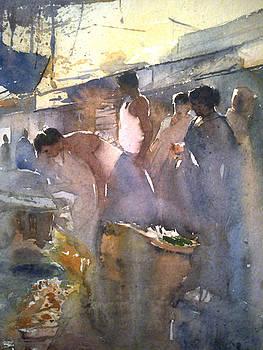 Market by Mohan Watercolours